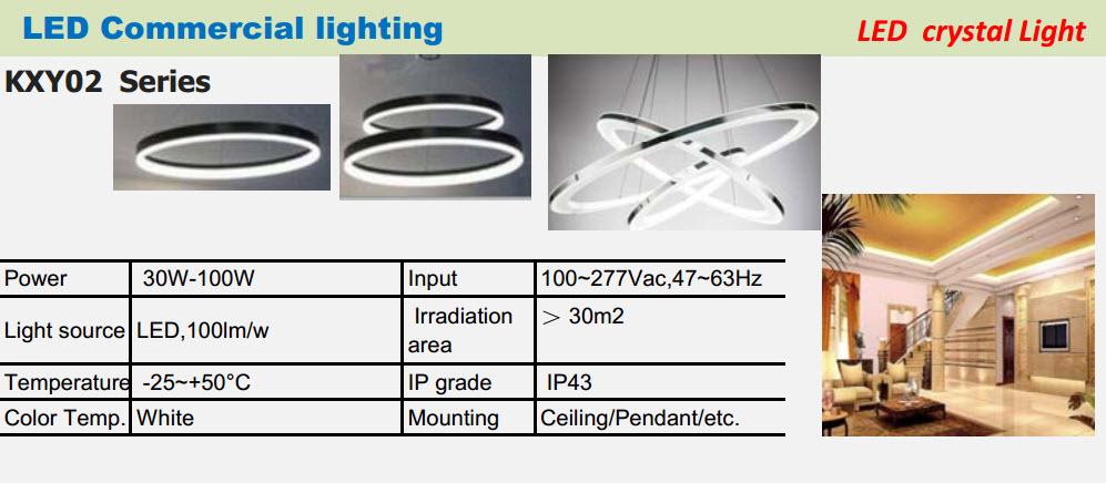 Led commercial lighting led crystal light series led commercial lighting led crystal light series aloadofball Gallery